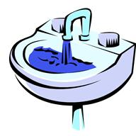 amyloid deposits block the organs similar to a blocked sink.